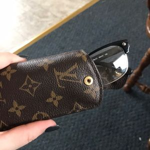 0d64416ff86c Louis Vuitton Accessories - Louis Vuitton soft eyeglass case